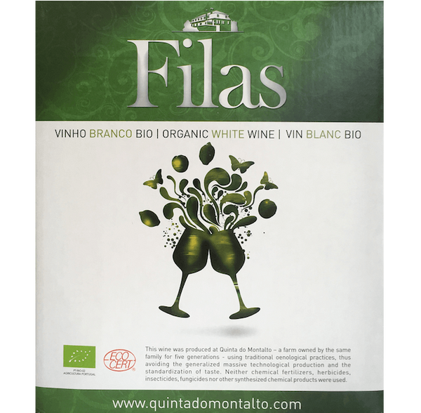 Filas 2016, Quinta do Montalto, Portugal (3L Wine in a Box) - Organic Wine Club