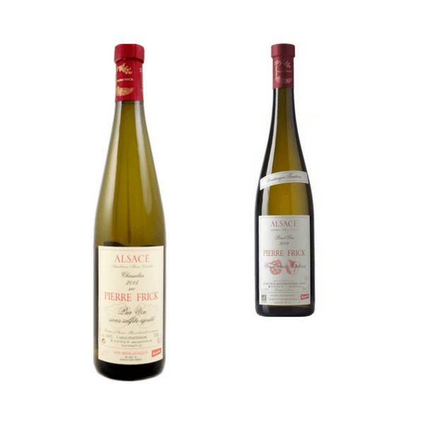Duo of Organic White Wines | Classic Drinking Wines | Pierre Frick, Alsace