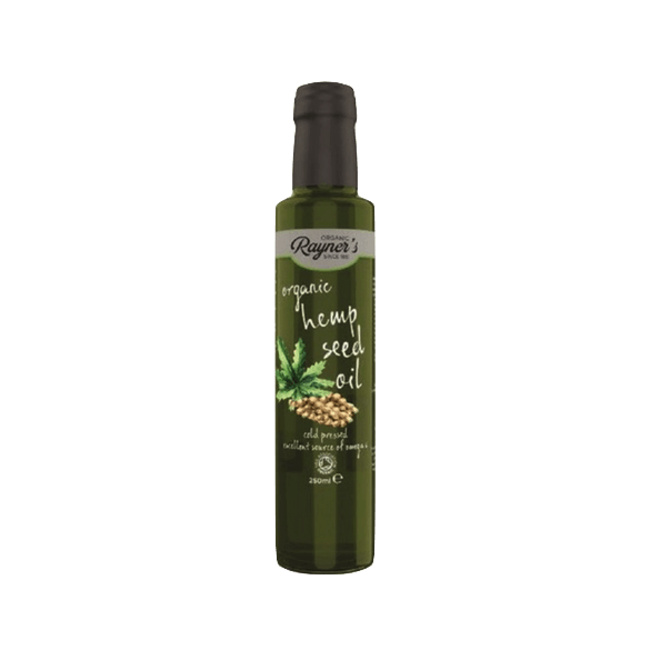 Rayners Organic Cold Pressed Hemp Seed Oil, UK (250ml)