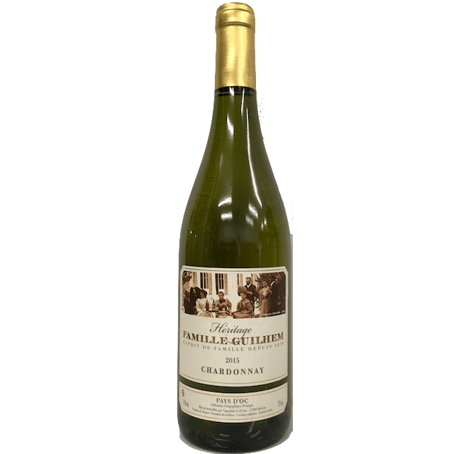 Heritage Chardonnay 2016, Famille - Guilhem, Pays d'Oc, France - Organic Wine Club