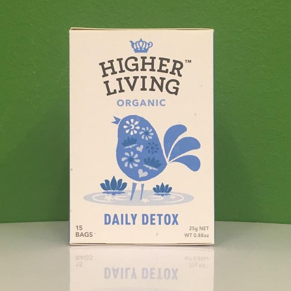 Higher Living Organic Daily Detox Tea