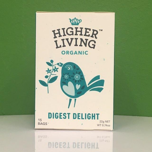 Higher Living Organic Digest Delight Tea