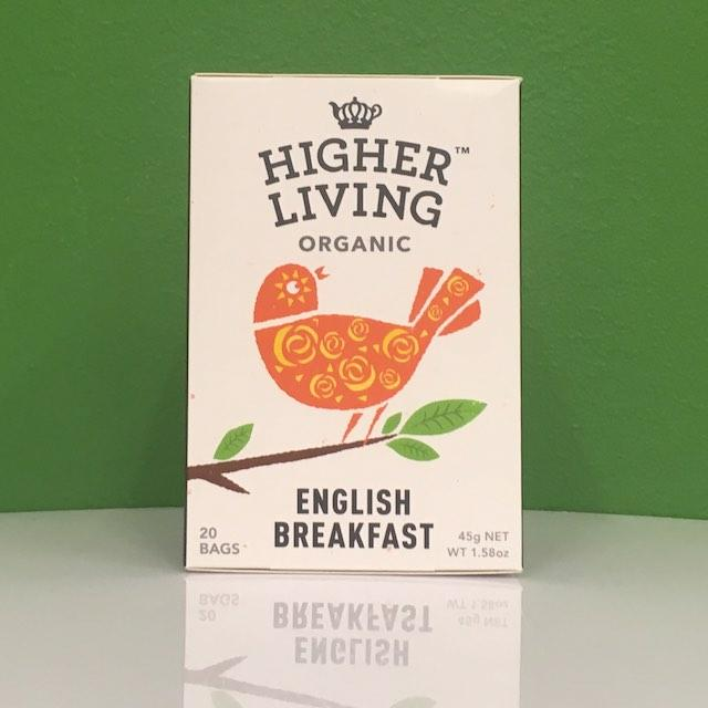 Higher Living Organic English Breakfast Tea