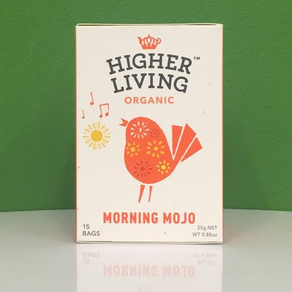 Higher Living Organic Morning Mojo Tea