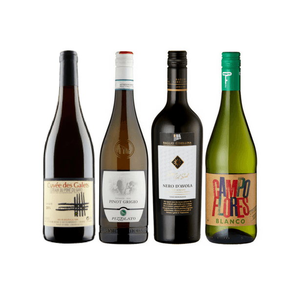 Introductory Organic Wine Club Case | 12 Assorted Organic Wines