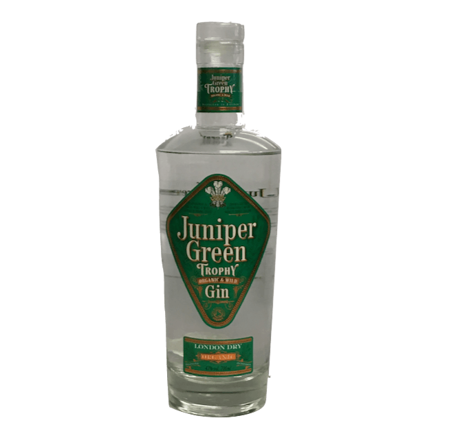Juniper Green Trophy Organic Gin - organic and wild London Dry Gin - Organic Wine Club  - 1