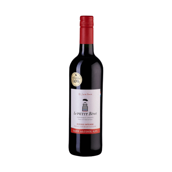 Le Petit Beret Rouge Intense, France (Red Alcohol Free Vine Juice)
