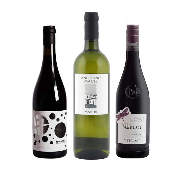 Strictly No Sulphites Added Mixed Wine Case of 12 Bestselling Organic Wines  5.00% Off Auto renew