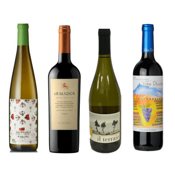 8/12 Biodynamic Wines | Organic Wines | Vegan Wine | Assorted Wine Case