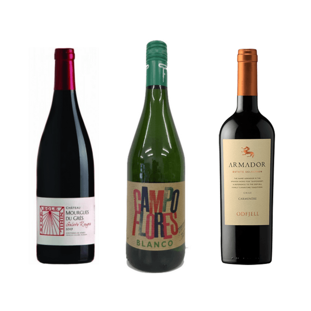 Try a Trio of Delicious Organic Wines (mixed)