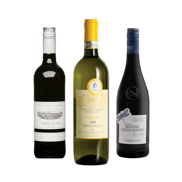 No Sulphites Added Wine Club Case of 6 Mixed Organic Wines