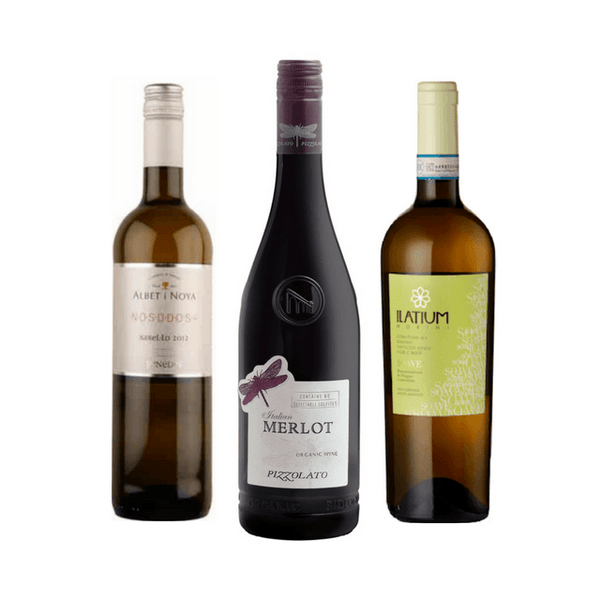 No Sulphites Added Case of 6 Mixed Organic Wines