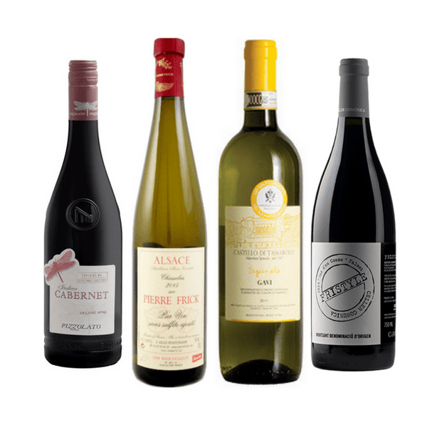 No Sulphites Added Wine Club Case of 8/12 Mixed Organic Wines