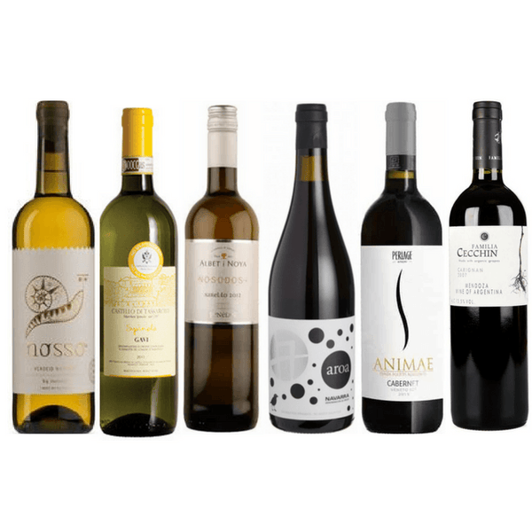 No Sulphites Added Wine Club Case | 6/12 Assorted Organic Wines