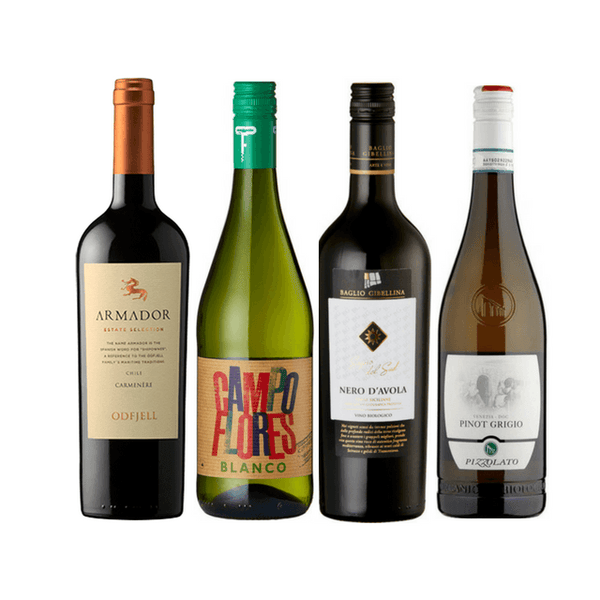 Introductory Organic Wine Club Case | 8/12 Assorted Organic Wines
