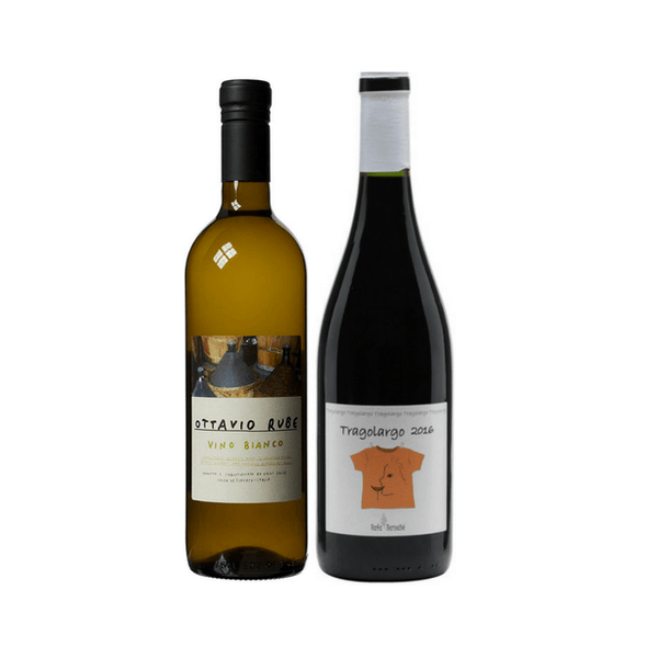 Introductory Pack | 2 Organic Wines | No Added Sulphites