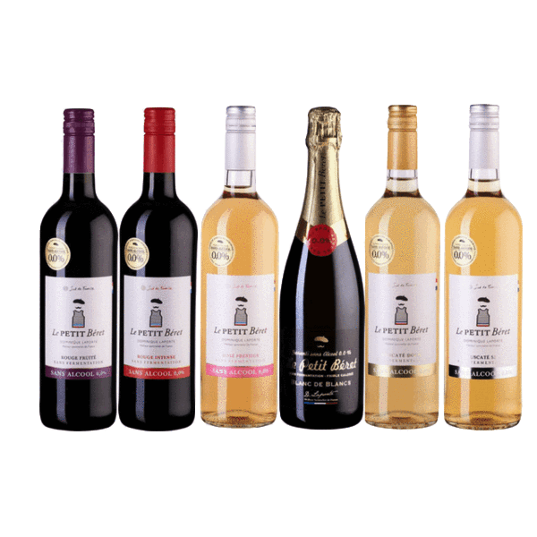 Taste of Organic Wine Club | Case of 6 Organic Alcohol Free Wines