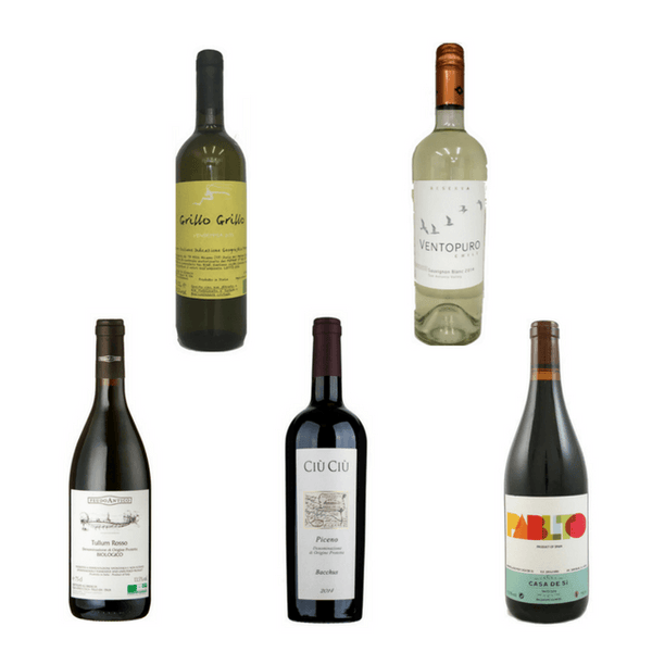 Taste of Organic Wine Club: 10 Mixed Natural Wines & Olive Oil