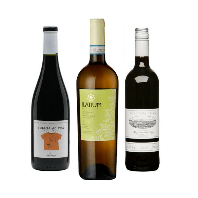 Introductory Pack | 3 Mixed Wines | No Added Sulphites