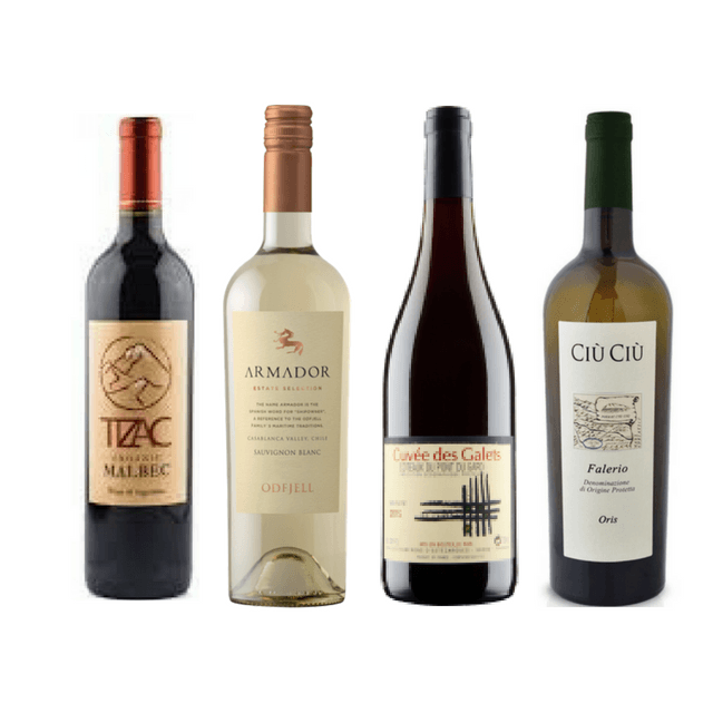 8/12 Vegan Wines | Organic Wine | Assorted Wine Case
