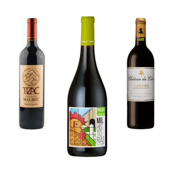 Trio of Organic Red Wines | Quirky Wines | Malbec