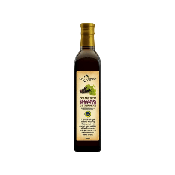 Mr Organic Balsamic Vinegar of Modena, Italy (500 ml)