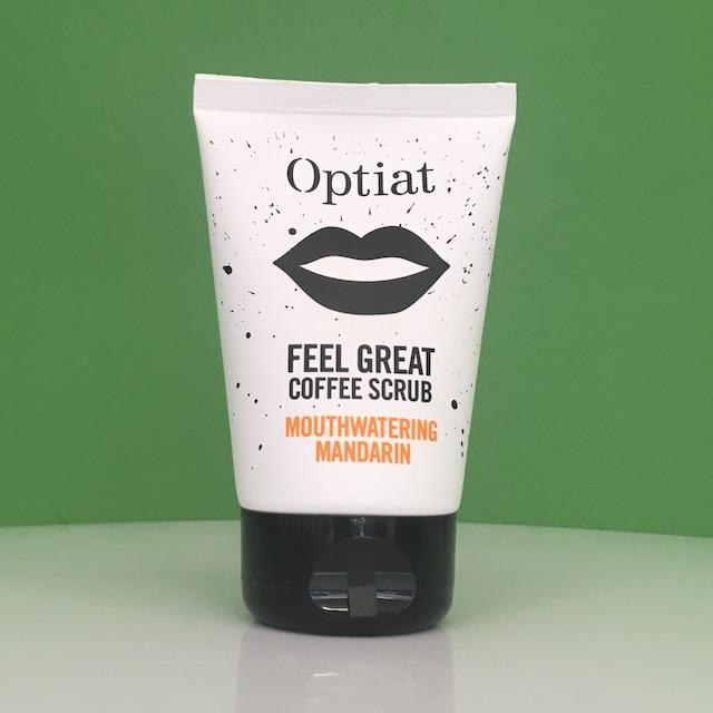 Optiat Mouthwatering Mandarin Coffee Face & Body Scrub