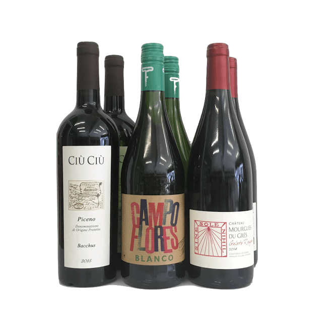 Monthly Organic Wine Subscription - Organic Wine Club