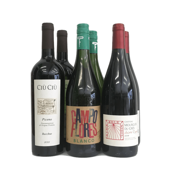 Monthly Organic Wine Subscription