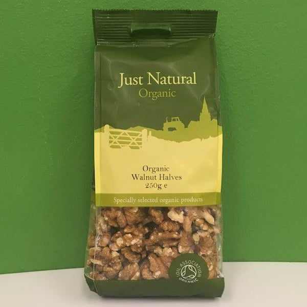 Organic Walnut Halves - Just Natural - 250 g