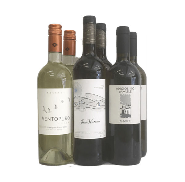Wine Club Favourite Case of 6 Organic White Wines - Organic Wine Club