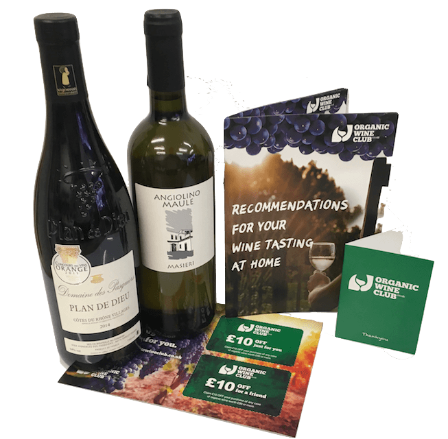 Organic Wine Discovery - 3 Months Wine Subscription
