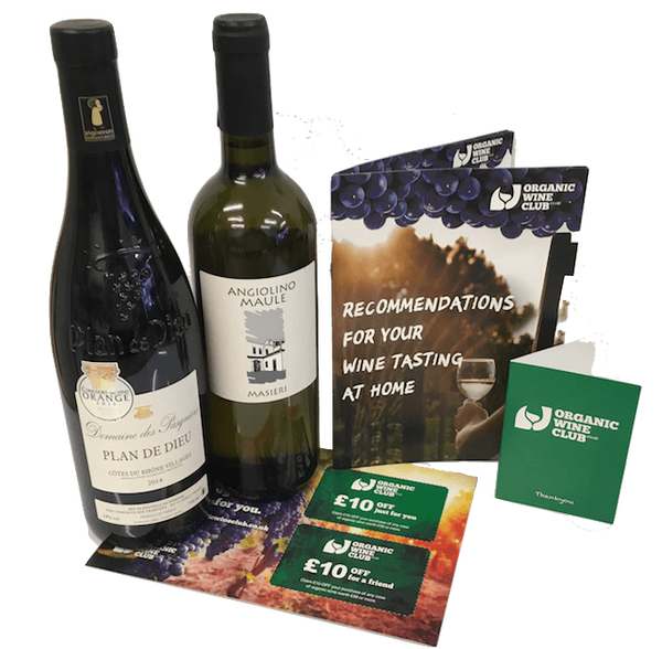 Organic Wine Discovery - 3 Months Wine Subscription - Organic Wine Club