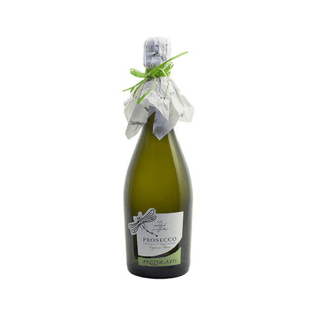 Organic Prosecco Pizzolato, Italy (no sulfites added)