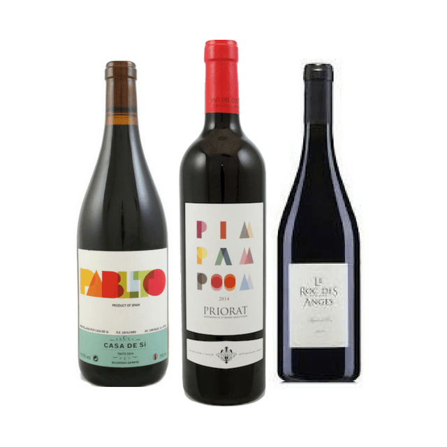 Organic Wine Tasting | 3 Red Wines | Made from Grenache