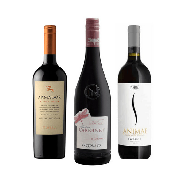 Taste of Organic Cabernet: Organic Wine Club Case of 6 Cabernet Wines