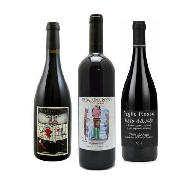 No Sulphites Added Wine Case | 6 Full Bodied Red Wines
