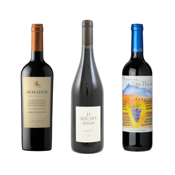 6 Gluten Free Wines | Organic Wine | Vegan Wines | Red Wine Case