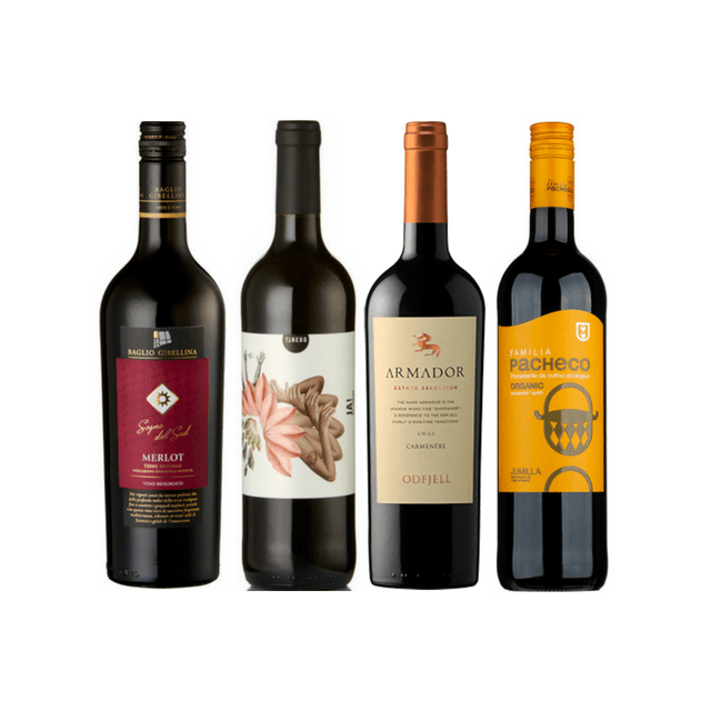Introductory Organic Wine Club Case | 8 Red Wines
