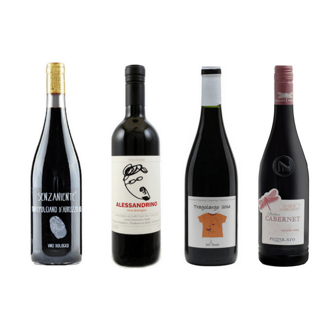 Strictly No Sulphites Added Wine Case | 8/12 Red Wines