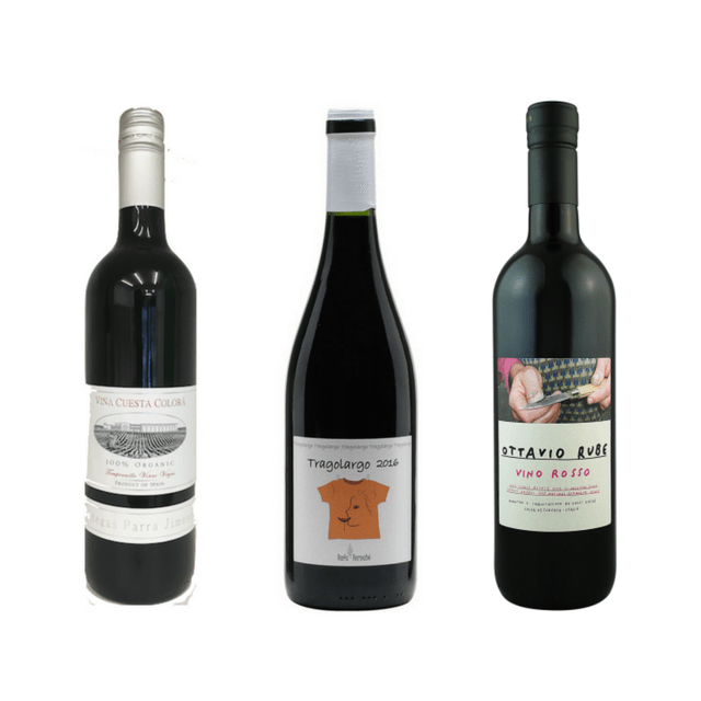 No Sulphites Added Organic Wine Case | 6 Organic Red Wines  5.00% Off Auto renew
