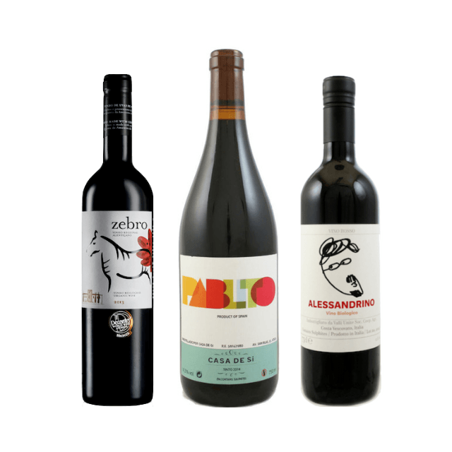 6 Vegan Wines | Organic Wine | Red Wine Case