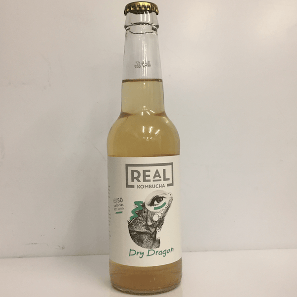 Dry Dragon Kombucha, Real Kombucha, UK (4 pack)