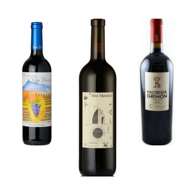 Trio of Organic Red Wines | Classic Wines | Rioja
