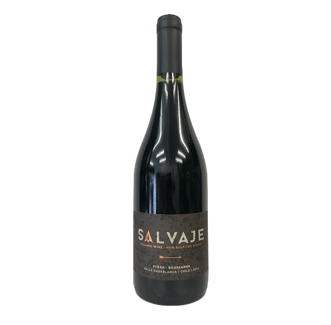 Salvaje Syrah Roussanne 2014, Casablanca, Chile (no sulphites added) - Organic Wine Club