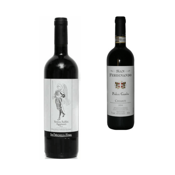 Duo of Organic Red Wines | Easy Drinking Wines | Sangiovese
