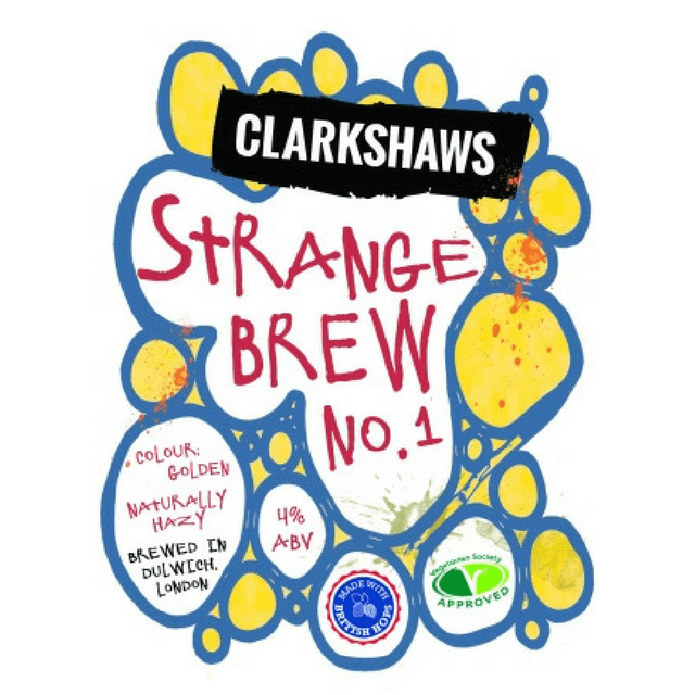 Strange Brew Pale Ale, Clarkshaws, Brixton, UK