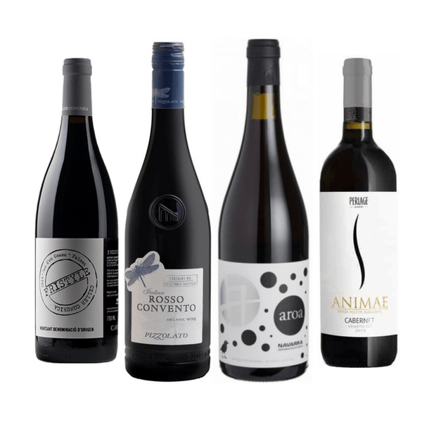 Strictly No Sulphites Added Wine Case | 8/12 Red Organic Wines