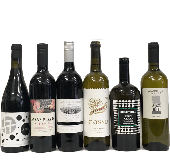 Strictly No Sulphites Added Wine Club Case of 6 Organic Wines (mixed) - Organic Wine Club