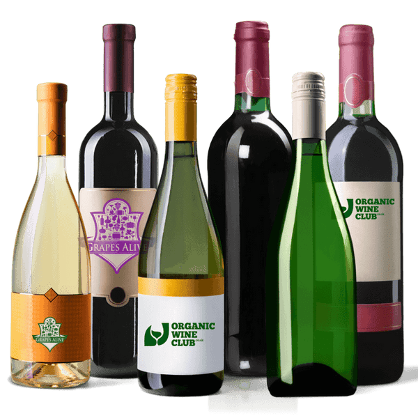 The Health Conscious Organic Wine Plan | Tailored by Us | 6/12 Bottles | Every 30, 60, 90 Days
